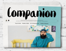 Interview Feature // Companion Magazine